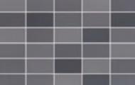 Ragno Colours mosaico mix black 4x7,5 cm