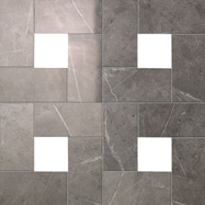 Atlas Concorde Marvel Floor design grey cassettone lapp 45x45