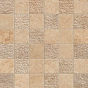 Atlas Concorde Sunrock bourgogne sand mosaico mix 5x5