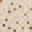 Atlas Concorde Sunrock travertino almond mosaico gold 2,5x2,5