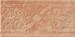 Monocibec Cotto Etrusco tarquina fascia incisa 16,5x33,3