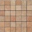 Apavisa Quartzstone Deco rosso estructurado mosaico 5x5