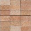 Apavisa Quartzstone Deco rosso estructurado mosaico 5x10