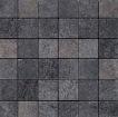 Apavisa Quartzstone Deco grafito estructurado mosaico 5x5