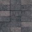 Apavisa Quartzstone Deco grafito estructurado mosaico 5x10