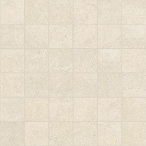Apavisa Microcement white lappato mosaico 5x5