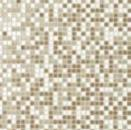 Ragno Glass mosaic avorio mix R. 1x1 cm