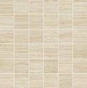 Atlas Concorde Sunrock travertino almond mosaico matt 5x5