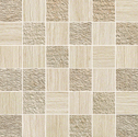 Atlas Concorde Sunrock travertino almond mosaico mix 5x5