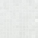 Atlas Concorde Admiration binaco carrara mosaico 2,5x2,5 lucida rettificato